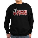 Dracula Drink up Bitches Hall Sweatshirt (dark)