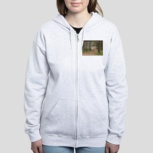 ASININE DESIGN Hilarious Gree Women's Zip Hoodie