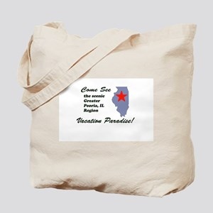Come See Peoria, IL Tote Bag