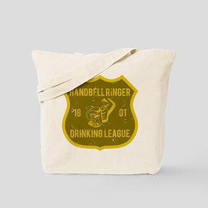 Handbell Ringer Drinking League Tote Bag