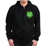 If Your Phone Doesn't Ring To Zip Hoodie (dark)