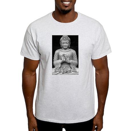 Gautama Siddhartha (Buddha) Ash Grey T-Shirt