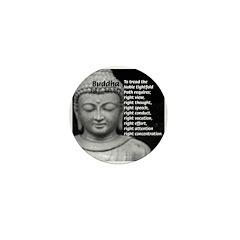 Gautama Siddhartha (Buddha) Mini Button (10 pack)