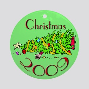 Christmas 2009 Ornament (Round)