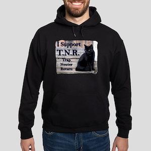 I Support TNR Hoodie (dark)