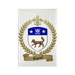REGNARD Family Crest Rectangle Magnet
