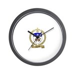REGNARD Family Crest Wall Clock