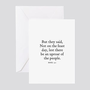 MARK  14:2 Greeting Cards (Pk of 10)