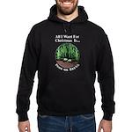 Xmas Peas on Earth Hoodie (dark)