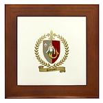 SAMPSON Family Crest Framed Tile