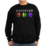 Rainbow Whatever Sweatshirt (dark)