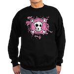Fishnet Skull Sweatshirt (dark)