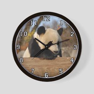 Giant Panda Bear 012 Wall Clock