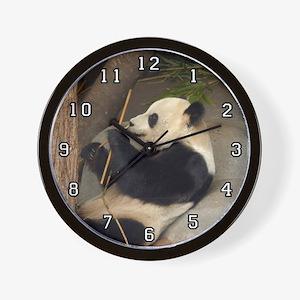 Giant Panda Bear 015 Wall Clock