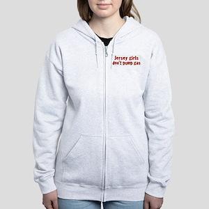 Jersey Girls Don't Pump Gas ( Women's Zip Hoodie