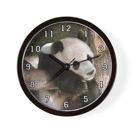 Giant Panda Bear 016 Wall Clock