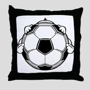 Soccer Baby Throw Pillow