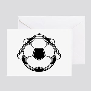 Soccer Baby Greeting Cards (Pk of 20)