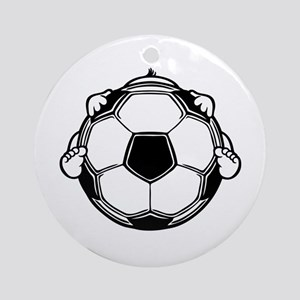 Soccer Baby Ornament (Round)
