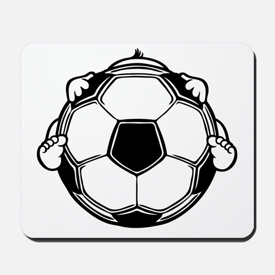 Soccer Baby Mousepad