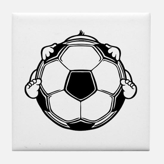 Soccer Baby Tile Coaster