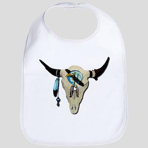 Steer Skull Bib