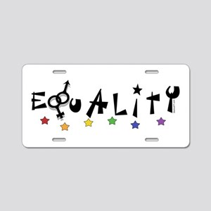 Equality2 Aluminum License Plate