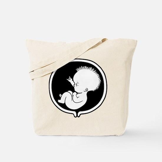 Rock Belly Tote Bag