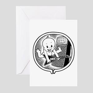 Rocker Inside Greeting Cards (Pk of 20)