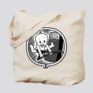 Rocker Inside Tote Bag