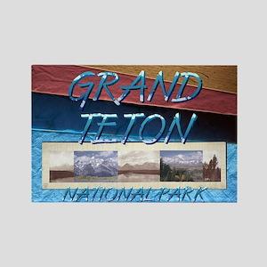 ABH Grand Teton Rectangle Magnet
