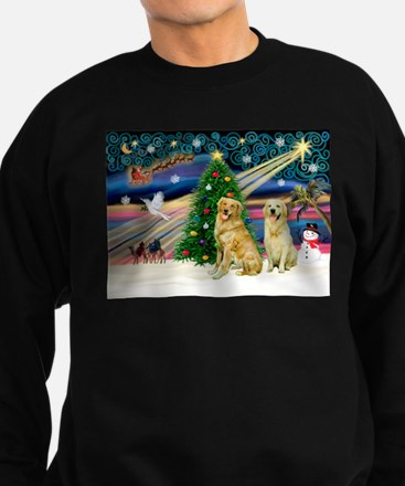 Xmas Magic & Golden pair Sweatshirt (dark)