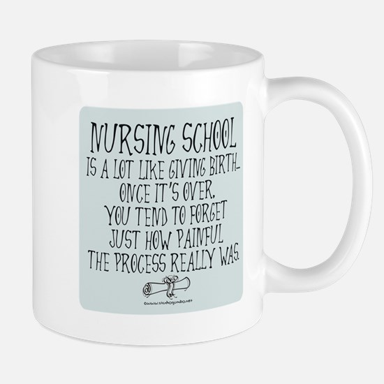 Nursing School like Birth II Mug
