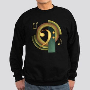Bass Clef Deco Sweatshirt (dark)