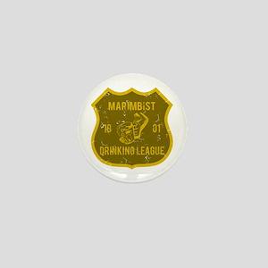 Marimbist Drinking League Mini Button