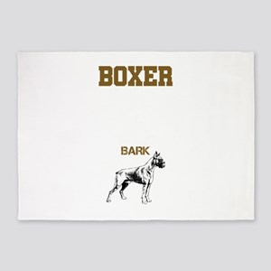 Boxer Guide 5'x7'Area Rug