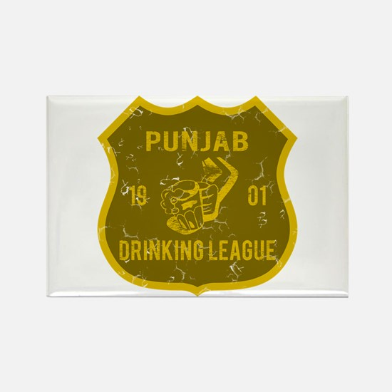 Punjab Drinking League Rectangle Magnet