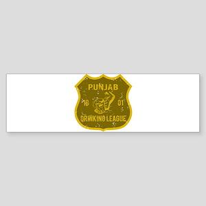 Punjab Drinking League Bumper Sticker