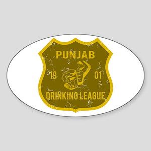 Punjab Drinking League Oval Sticker
