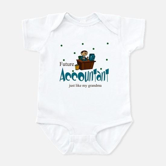Future Accountant Like Grandma Infant Bodysuit