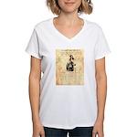 Andy Cooper Women's V-Neck T-Shirt