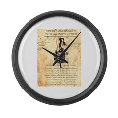 Andy Cooper Large Wall Clock