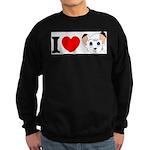 I Love ... Sweatshirt (dark)
