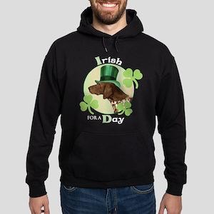 St. Patrick German Shorthaire Hoodie (dark)