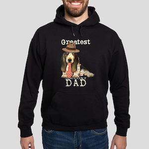 Basset Dad Hoodie (dark)