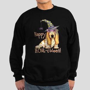 Halloween Basset Sweatshirt (dark)