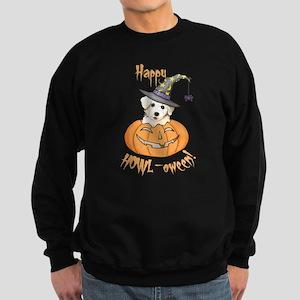 Halloween Bichon Sweatshirt (dark)
