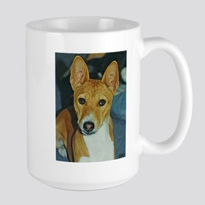 Basenji Christmas Large Mug