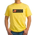 Character & Integrity Yellow T-Shirt
