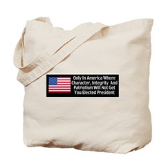 Character & Integrity Tote Bag
